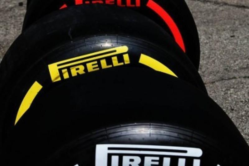 Wszystkie mieszanki opon na testach F1