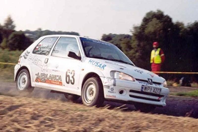 Rajdówki Kajetana: Peugeot wygrał z kit-carem