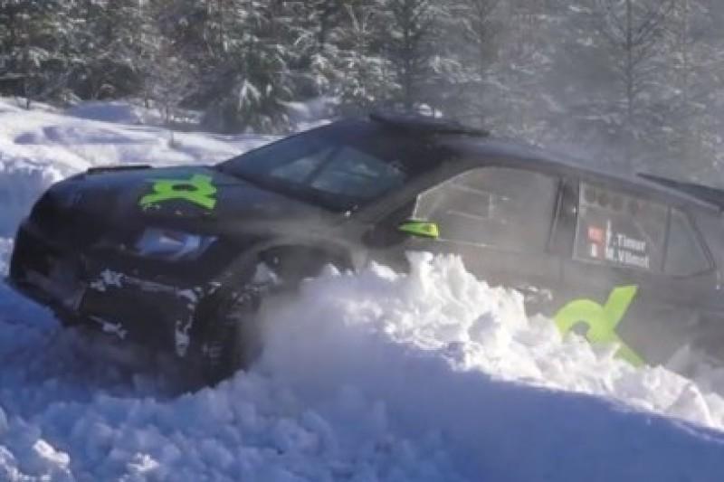 Załogi WRC 2 w akcji