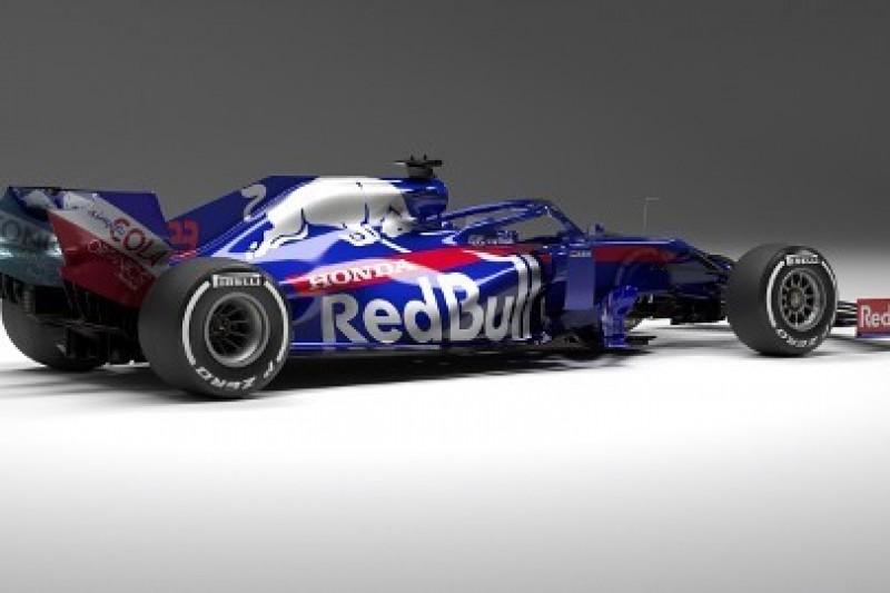 Toro Rosso z częściami Red Bulla