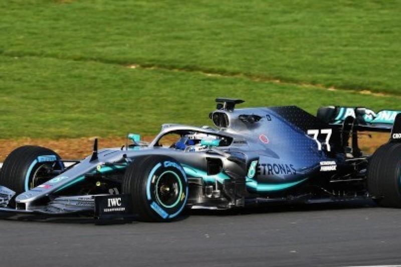 Mercedes W10 na Silverstone