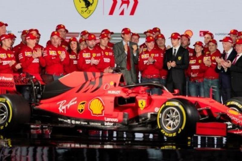 Ferrari na 90-lecie