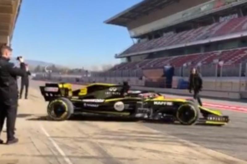Ricciardo jeździ R.S.19