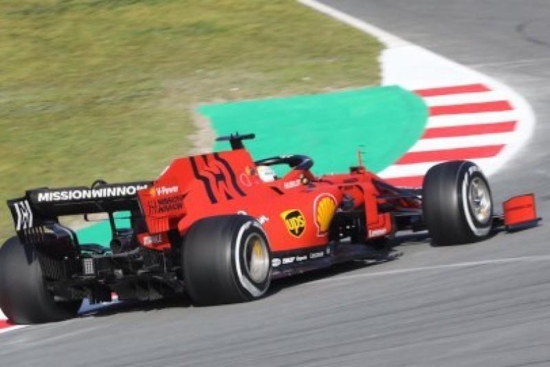 Ostry początek Ferrari