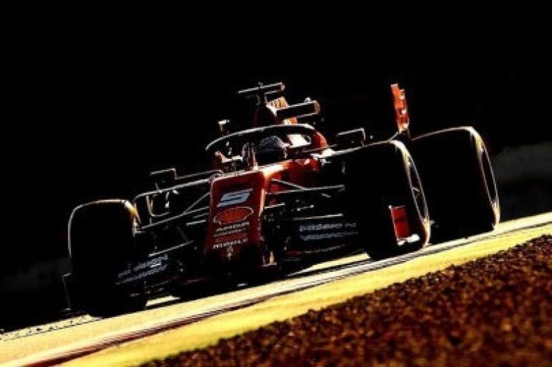 Ferrari znowu na czele