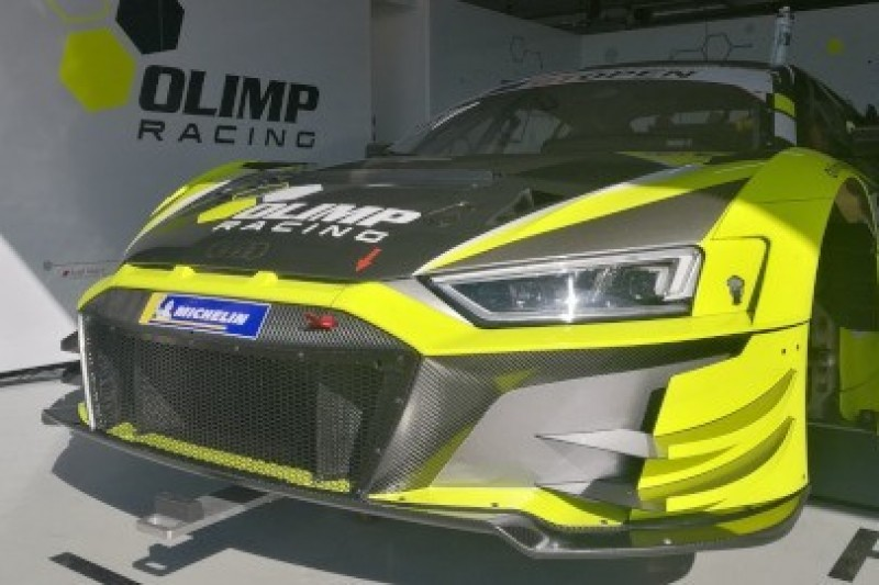 Olimp Racing na testach GT Open
