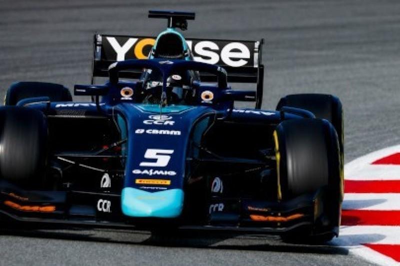 Brazylijski lider testów F2