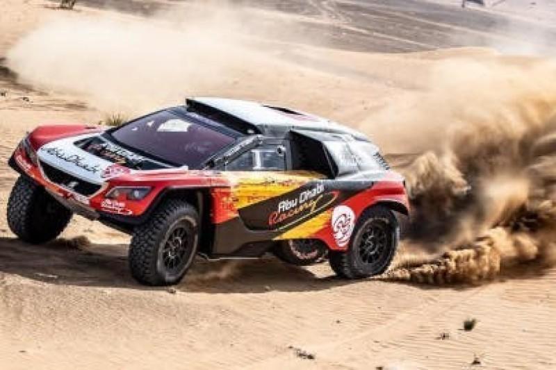 Al-Qassimi i Panseri testowali Peugeota
