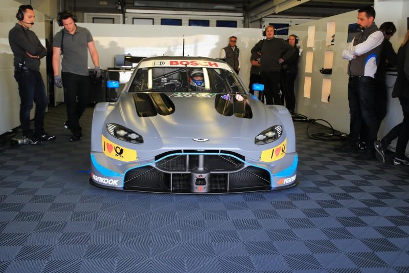 Aston Martin nach erstem Test: Die Basis des Vantage stimmt!