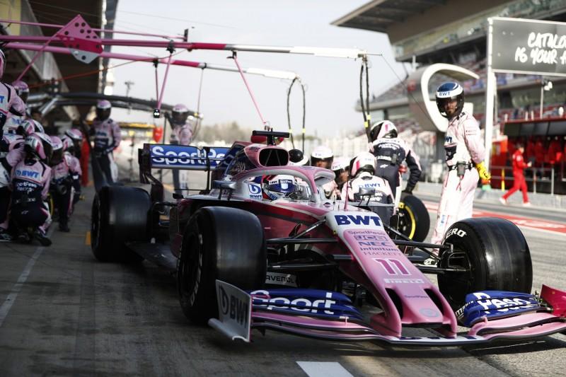 Sergio Perez: Vierter WM-Rang für Racing Point wäre ein guter Anfang