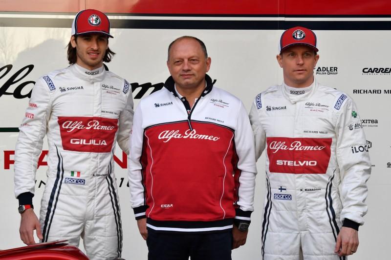 Alfa Romeo: Erst nach ein paar Rennen wirklich konkurrenzfähig?