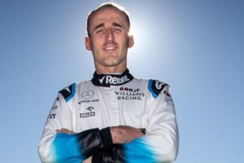 Kubica z czołówką F1