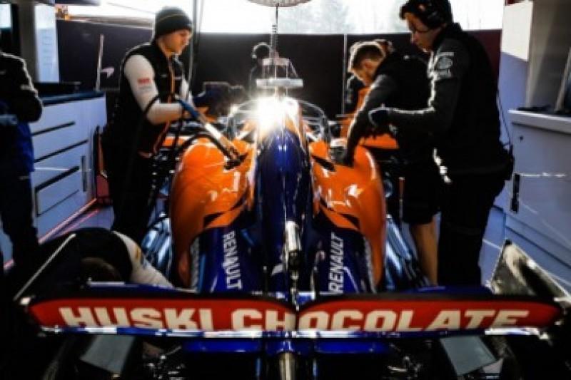 McLaren bez logotypów BAT