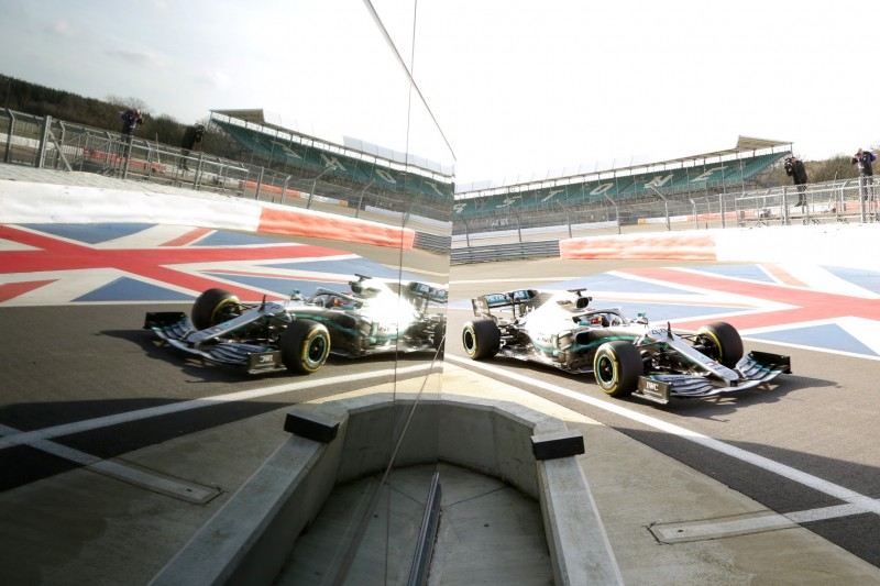 Vor dem Formel-1-Rennen: Silverstone bekommt neuen Asphalt