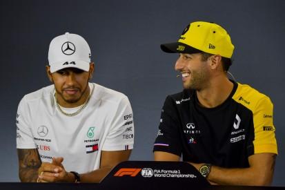 Lewis Hamiltons Angst vor Haien: Einfach eine aufs Maul!
