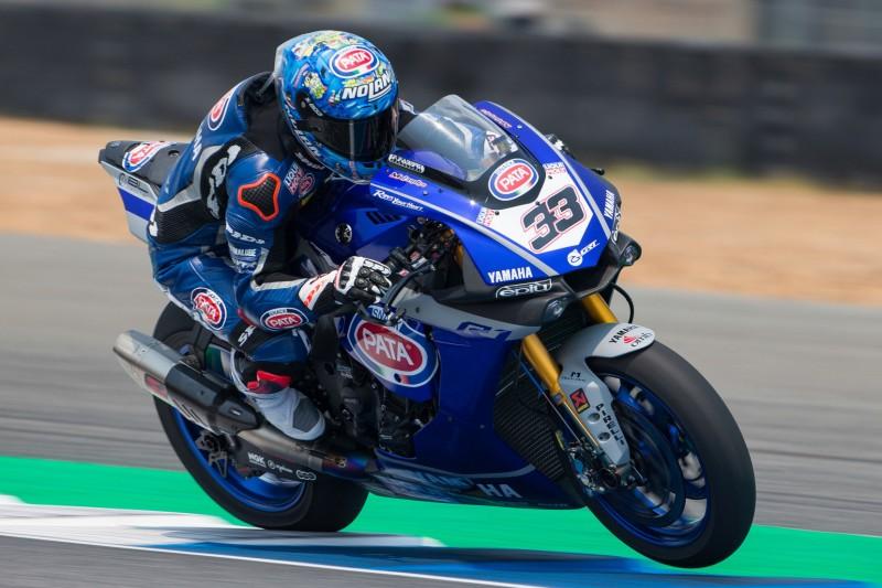 Stabilitätsprobleme: Marco Melandri erlebt mit der Yamaha R1 ein Deja-vu