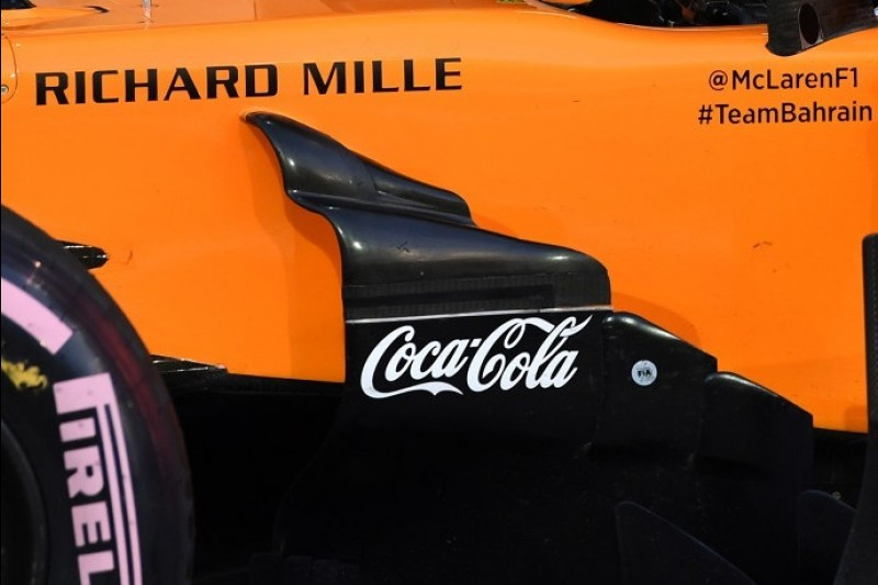 Coca-Cola sponsert auch in der Formel-1-Saison 2019 McLaren