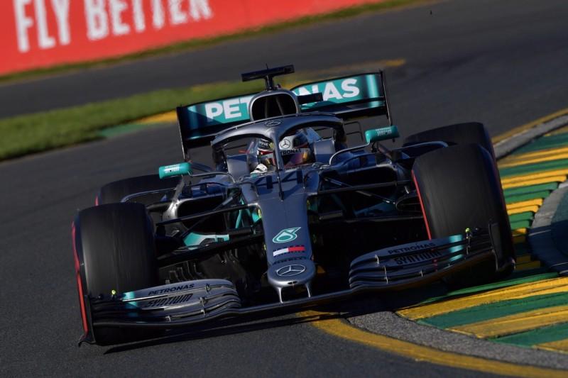 Formel-1-Qualifying Australien: Mercedes packt den Hammer aus