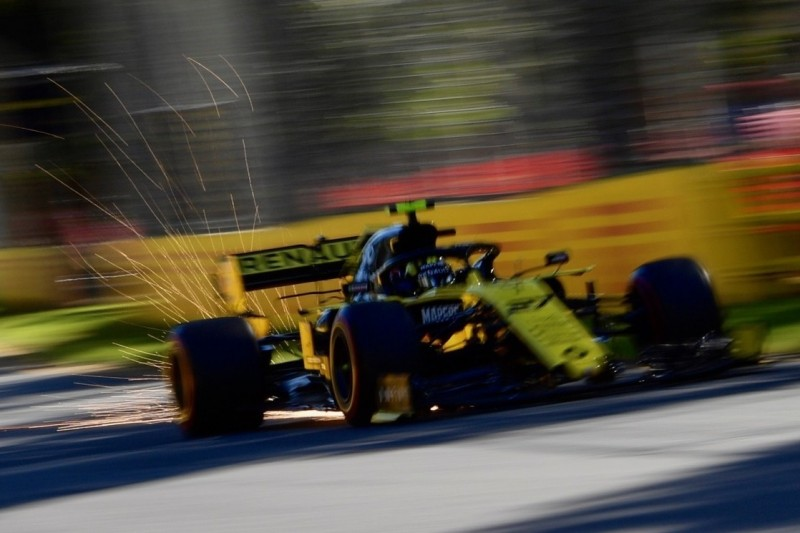 Nico Hülkenberg trotz Problemen schneller als Daniel Ricciardo