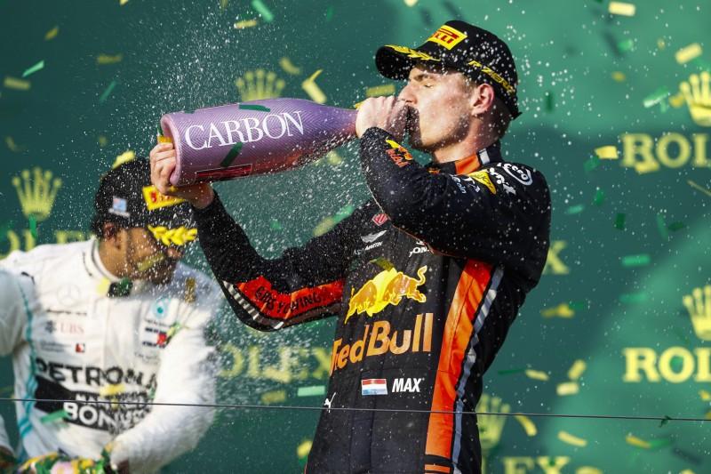 Schneller als Ferrari: Red Bull jubelt über Verstappen-Podium