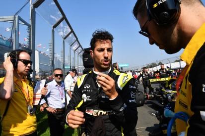Schwarzes Heimrennen: Hat sich Daniel Ricciardo zu viel zugemutet?