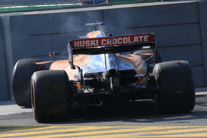 Sainz' Motor in Flammen: MGU-K schuld am ersten Ausfall der Formel 1 2019