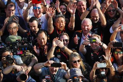 Erstes Podium seit 2008: Honda feiert P3 von Red Bull unter Freudentränen