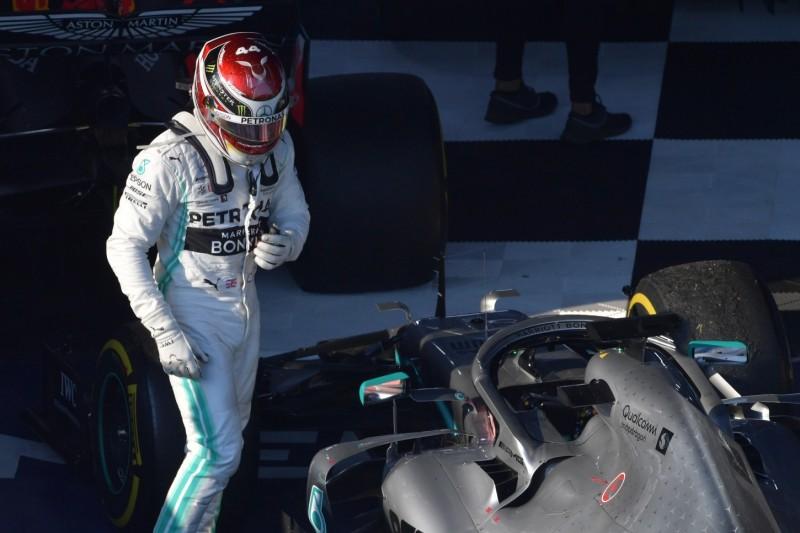 """Lewis Hamilton nach P2: """"Hätte viel schlimmer kommen können"""""""