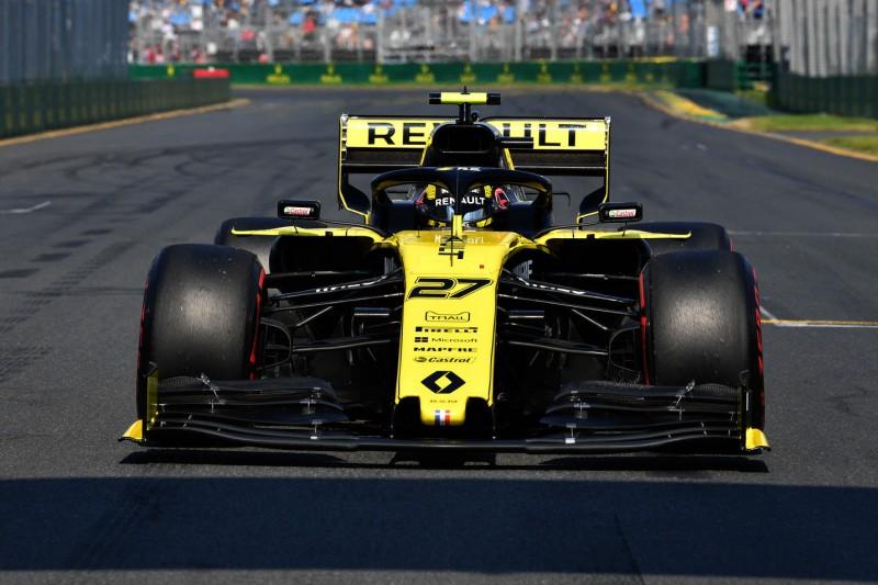 """Formel 1 2019: Renault erwartet """"engen"""" Kampf im Mittelfeld"""