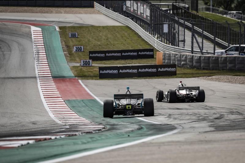 IndyCar: Pro und Contra zu (nicht vorhandenen) Track-Limits in Austin