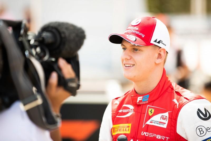 """Mick Schumacher: Mit """"Heizung an"""" auf Formel-2-Debüt vorbereitet"""