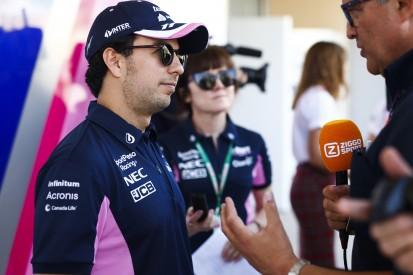"""Sergio Perez vor Bahrain: Racing Point """"eher auf der langsamen Seite"""""""