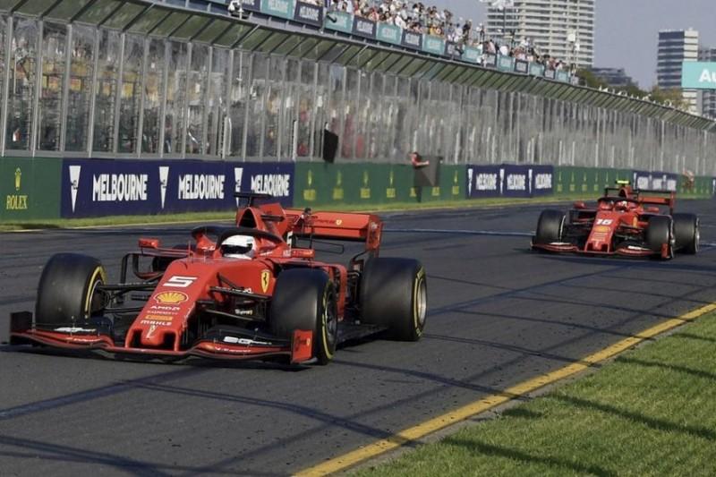 Keine große Sache: Sebastian Vettel verteidigt Melbourne-Teamorder