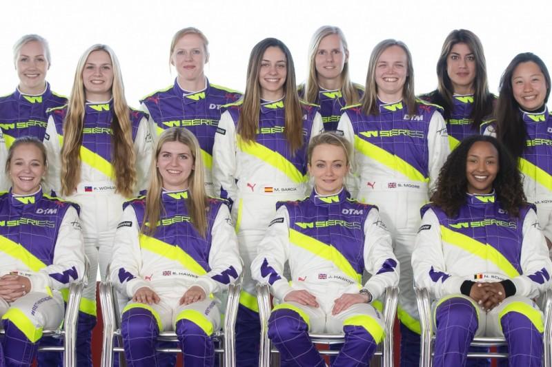 W-Series: Diese 18 Fahrerinnen gehen 2019 an den Start