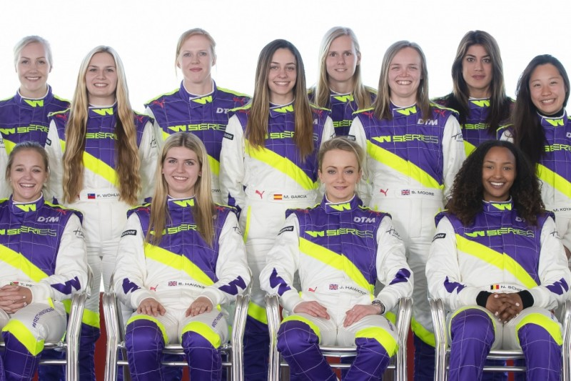 W-Serie: Diese 18 Fahrerinnen gehen 2019 an den Start