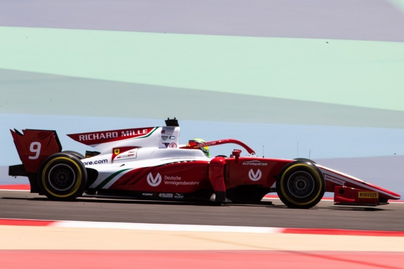 Platz zehn für Mick Schumacher im ersten Formel-2-Qualifying