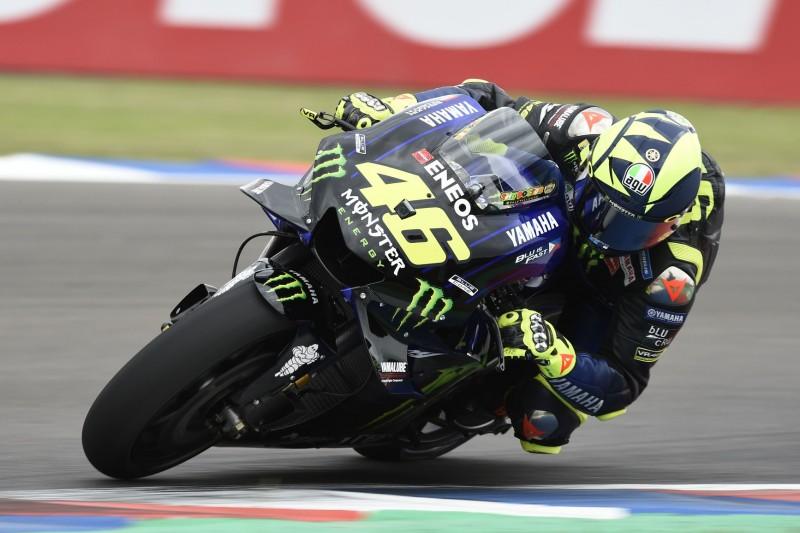 """Valentino Rossi happy: """"Nicht so weit weg von der Spitze"""""""