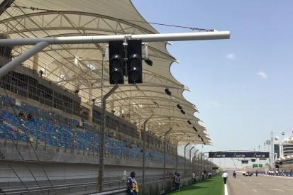 Sichtproblem provisorisch gelöst: Zusätzliche Startampeln in Bahrain