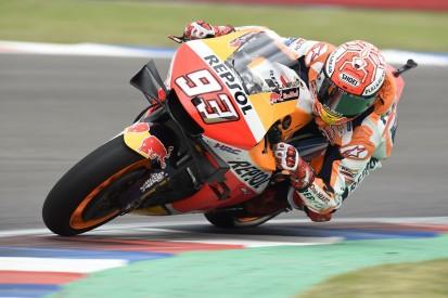 MotoGP Argentinien FT3: Marquez macht die Pace, Dovizioso stürzt