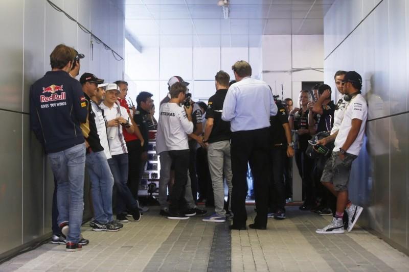 Großes Meeting: Formel-1-Fahrer debattieren laxe Strafen-Handhabung