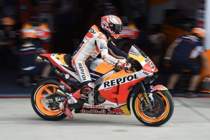 MotoGP Argentinien Warm-up: Pole-Setter Marc Marquez gibt den Ton an