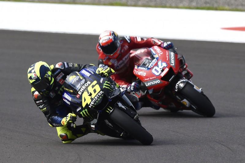 """Rossi vs. Dovizioso: """"Angst"""" beim entscheidenden Überholmanöver"""