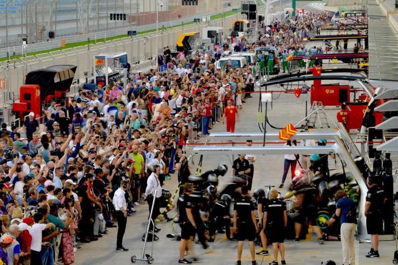 Mehr Fans an der Strecke: Aufrüstung in Australien, Rekord in Bahrain