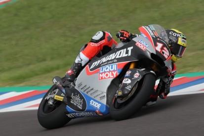 Null Punkte für Tom Lüthi: Bremsprobleme führten zum Sturz