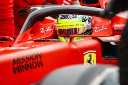 Mick Schumacher: Erste Runden im Formel-1-Ferrari