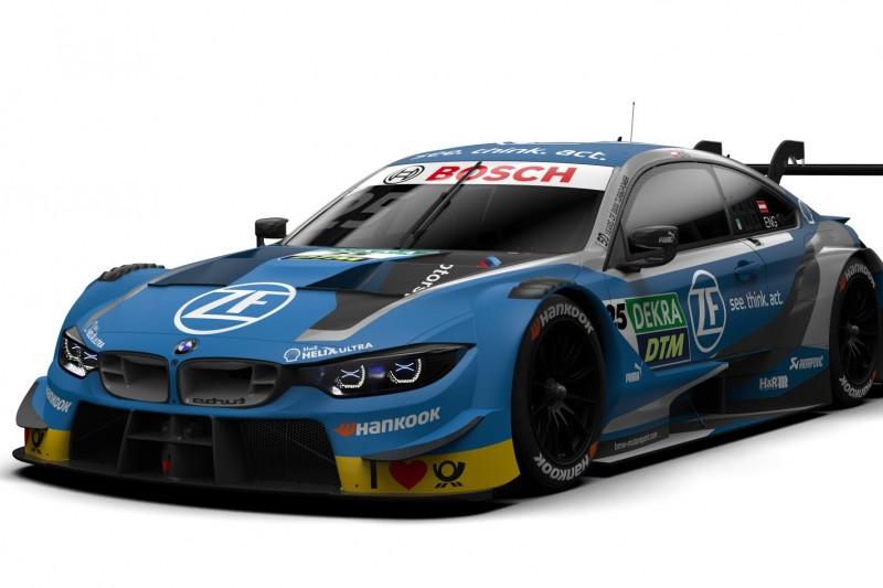 Erste DTM-Lackierung für 2019: So sieht Philipp Engs BMW aus