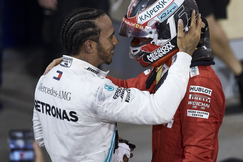 Lewis Hamilton akzeptiert Charles Leclerc im Kreis der Großen