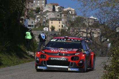 """""""Testsession"""": Sebastien Ogier kämpft auf Korsika mit Handling des Citroen"""