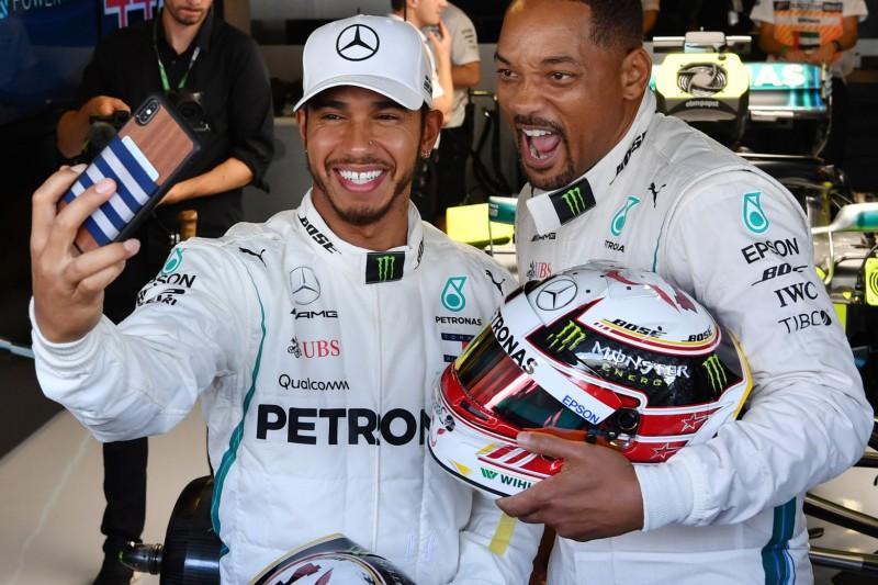 Formel 1 startet Unterhaltungsinitiative gemeinsam mit Will Smith
