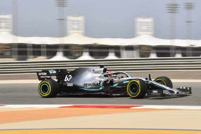 Formel-1-Test Bahrain: Mercedes-Bestzeit für Williams-Pilot Russell